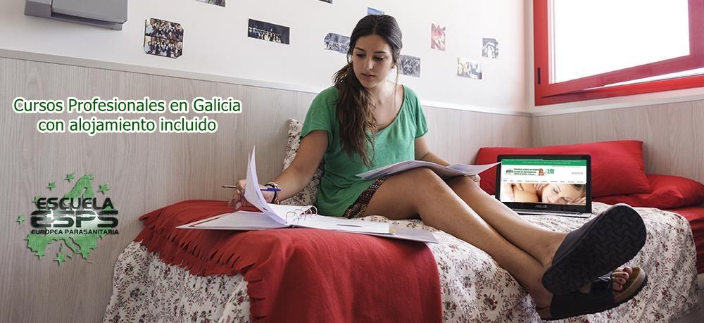 cursos en Coruña con alojamiento incluido para estudiantes